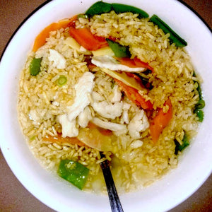 3 Flavor Sizzling Rice Soup+