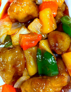 Lunch - Sweet and Sour Shrimp