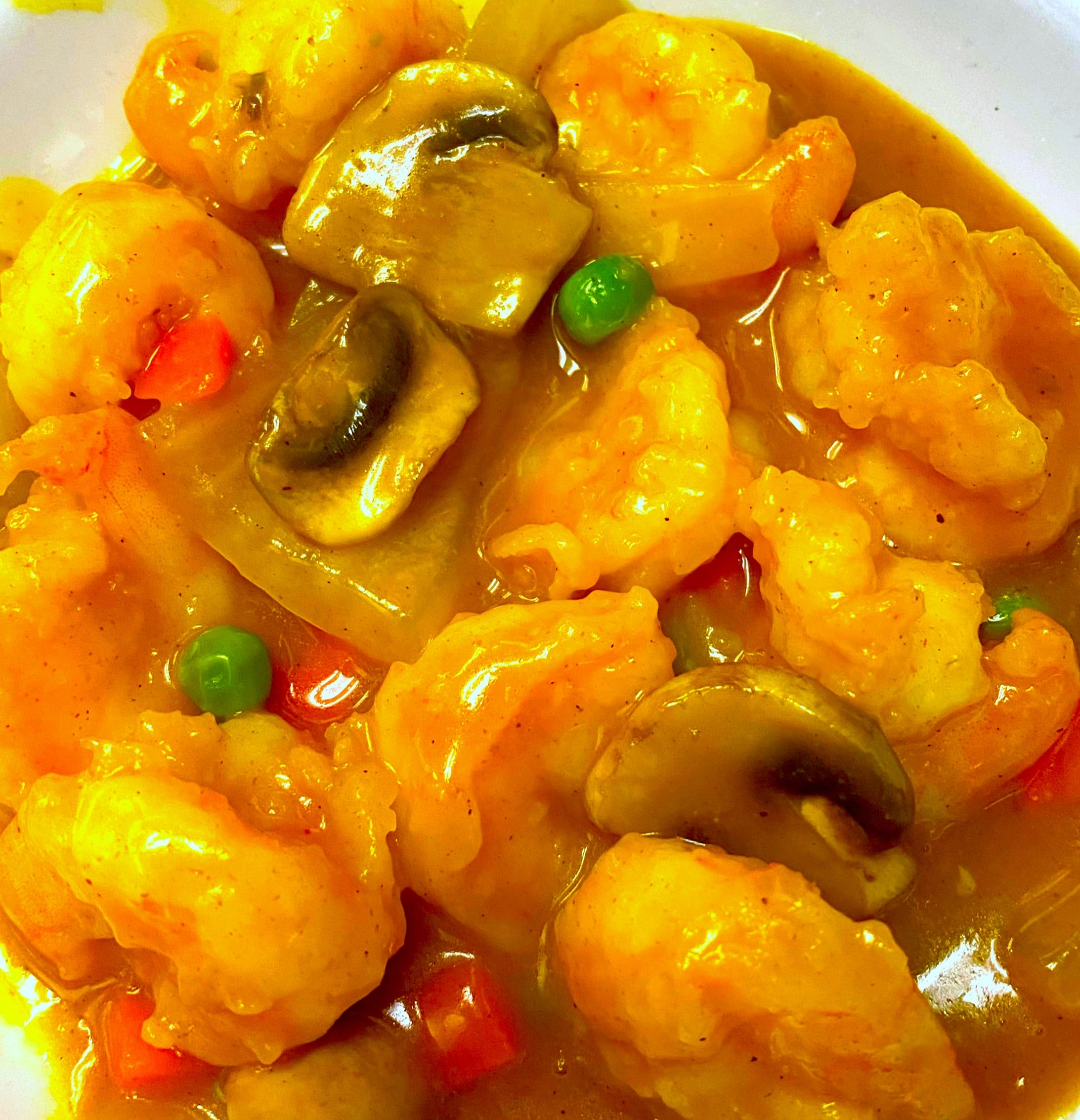 Curry Shrimp*+