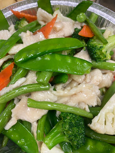 Chicken and Vegetables+