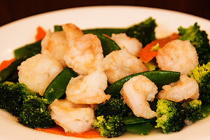 Lunch - Vegetable Shrimp+