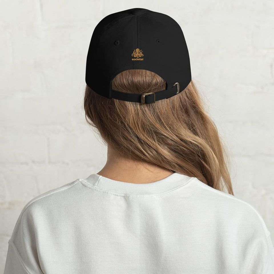 100% Human Hat Black Political-Activist-Socialist-Fashion -Art-And-Design