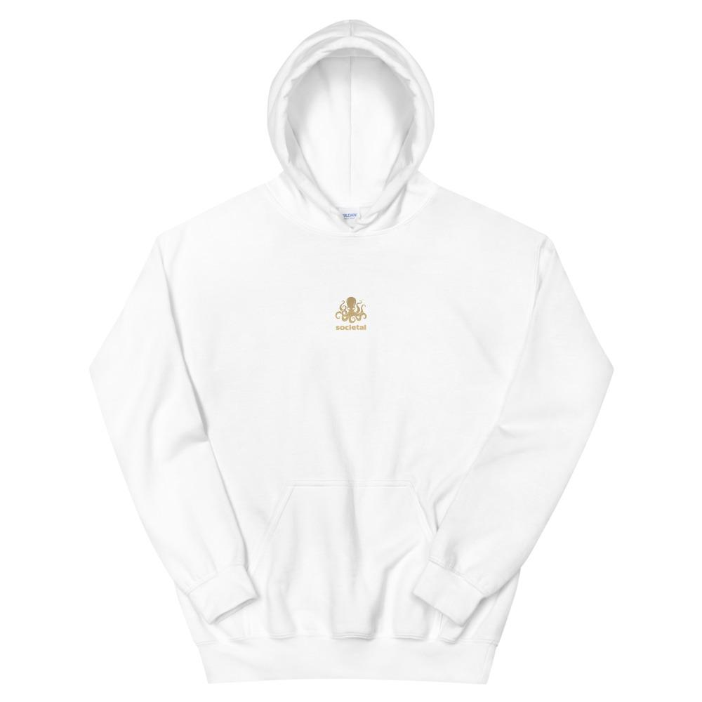 100%  Percent Human Unisex Hoodie White / S Political Clothing
