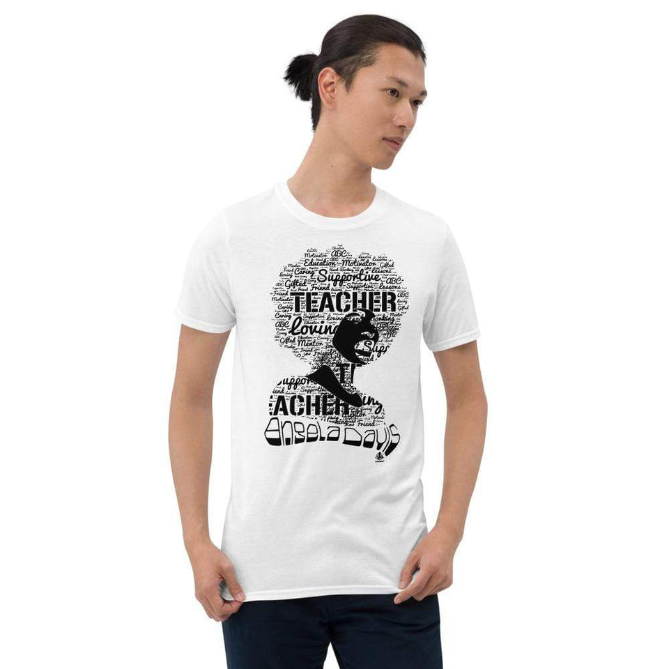 Angela Y. Davis T-Shirt Political-Activist-Socialist-Fashion -Art-And-Design