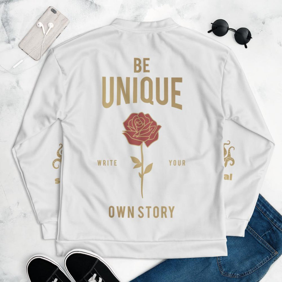 Be Unique Bomber Jacket Political-Activist-Socialist-Fashion -Art-And-Design