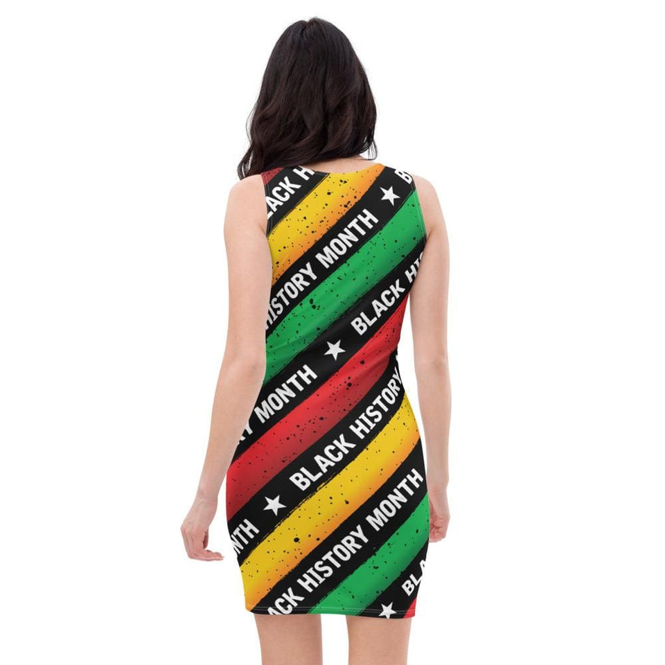 Black History Month Tribute Dress Political-Activist-Socialist-Fashion -Art-And-Design