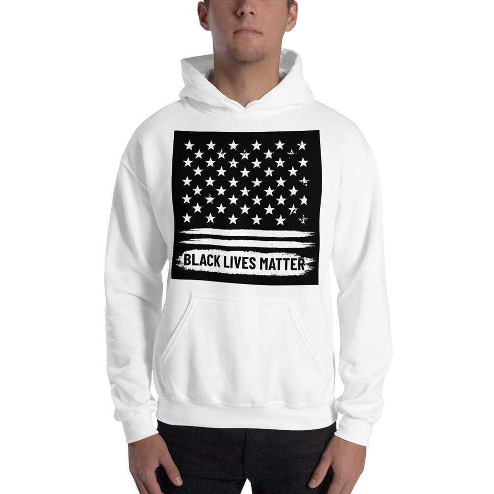 Black Lives Matter Hoodie Political-Activist-Socialist-Fashion -Art-And-Design