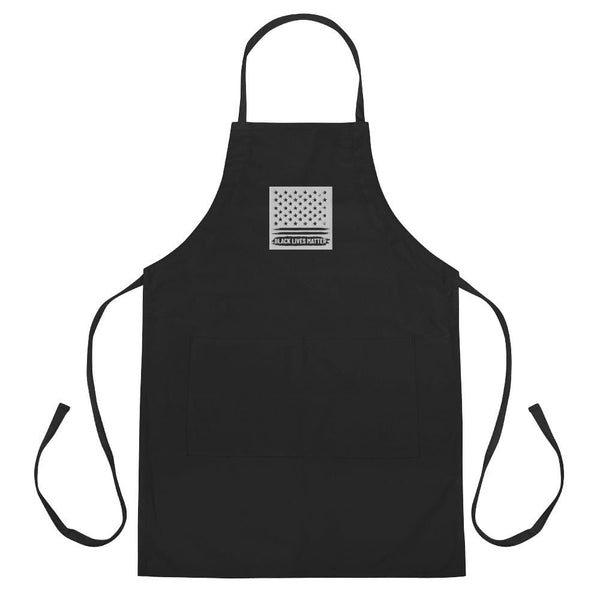 Black Lives Matter Embroidered Apron Political Clothing