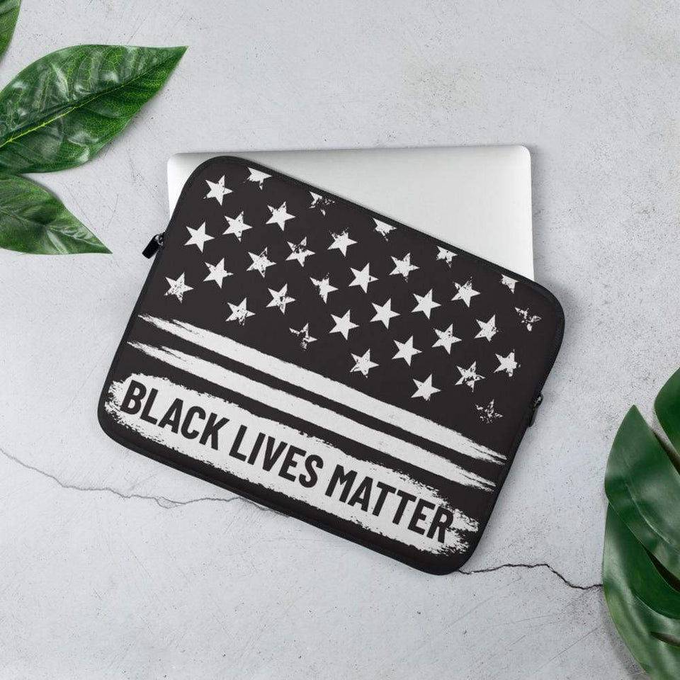 BLM Laptop Sleeve 13 in Political-Activist-Socialist-Fashion -Art-And-Design