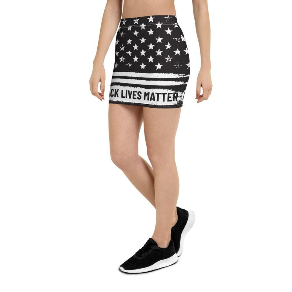 BLM Mini Skirt Political-Activist-Socialist-Fashion -Art-And-Design