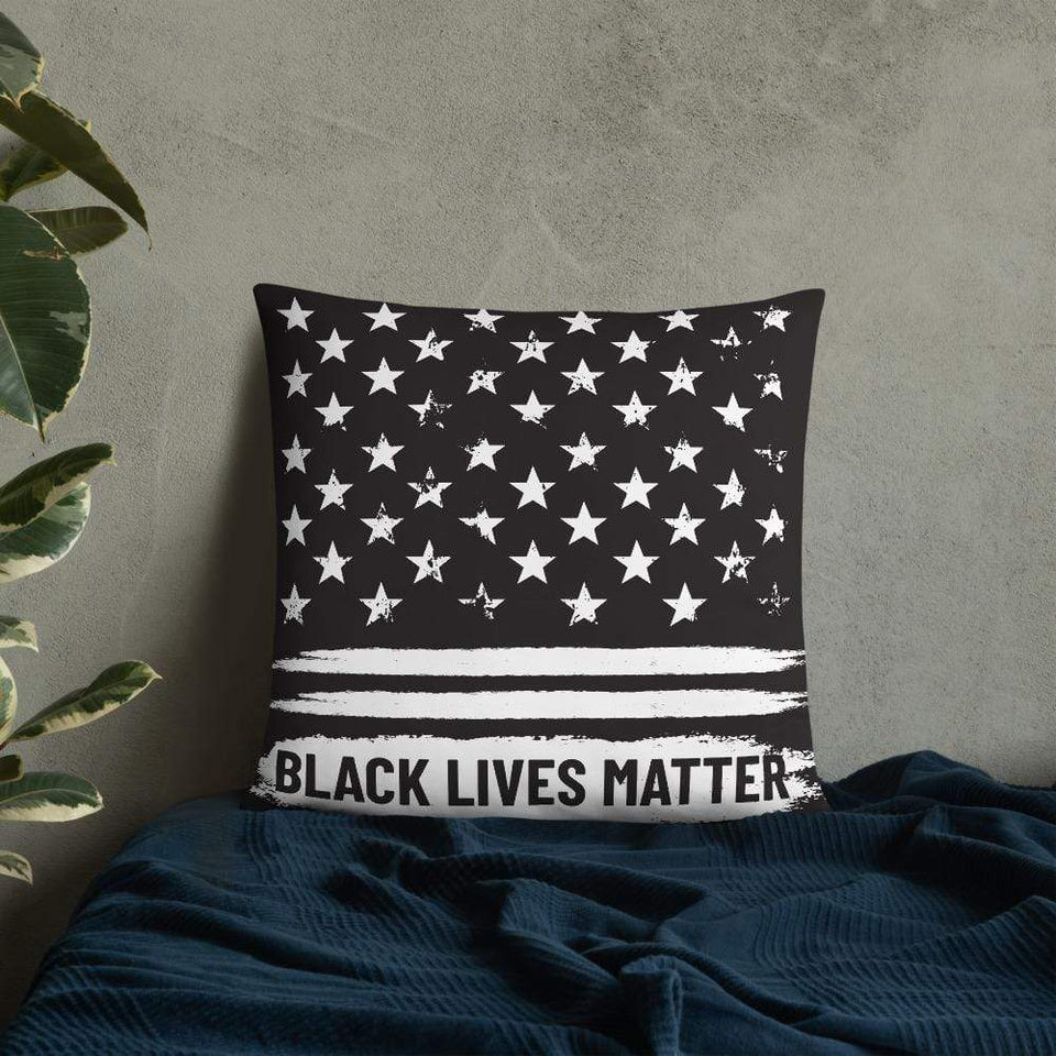 Black lives matter Pillow 22×22 Political-Activist-Socialist-Fashion -Art-And-Design