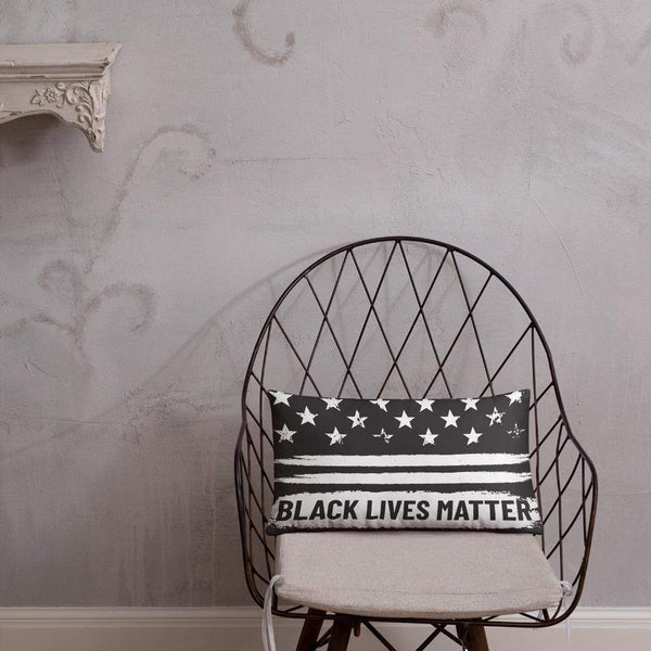 Black lives matter Pillow Political Clothing