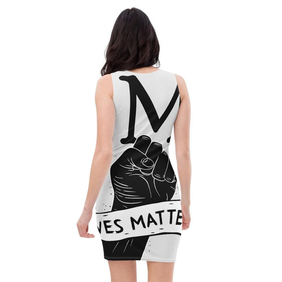 Black Lives Matter Protest Dress Political-Activist-Socialist-Fashion -Art-And-Design