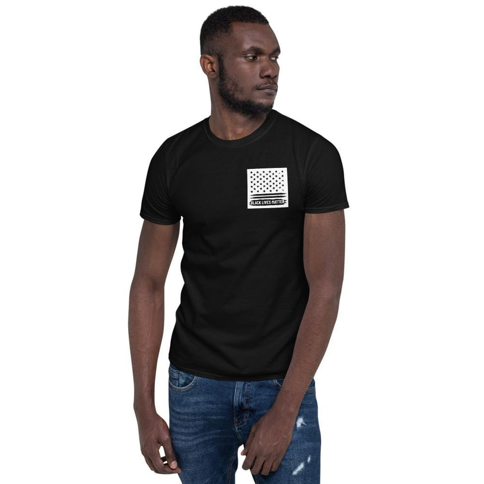Black Lives Matter T-Shirt Black / S Political-Activist-Socialist-Fashion -Art-And-Design