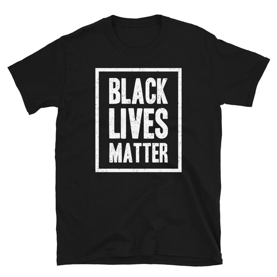 BLM T-shirt Black / S Political-Activist-Socialist-Fashion -Art-And-Design