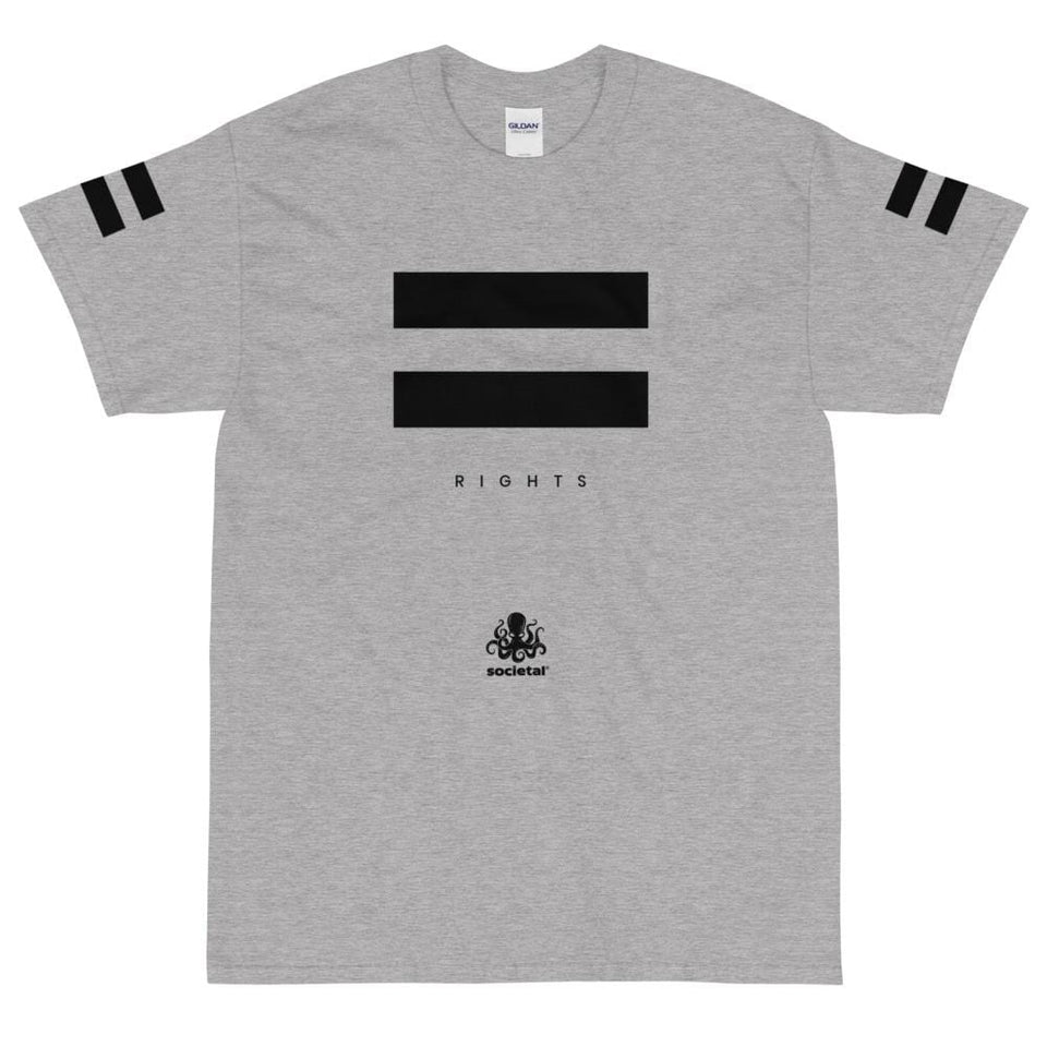 Equal Right Tee Sport Grey / S Political-Activist-Socialist-Fashion -Art-And-Design