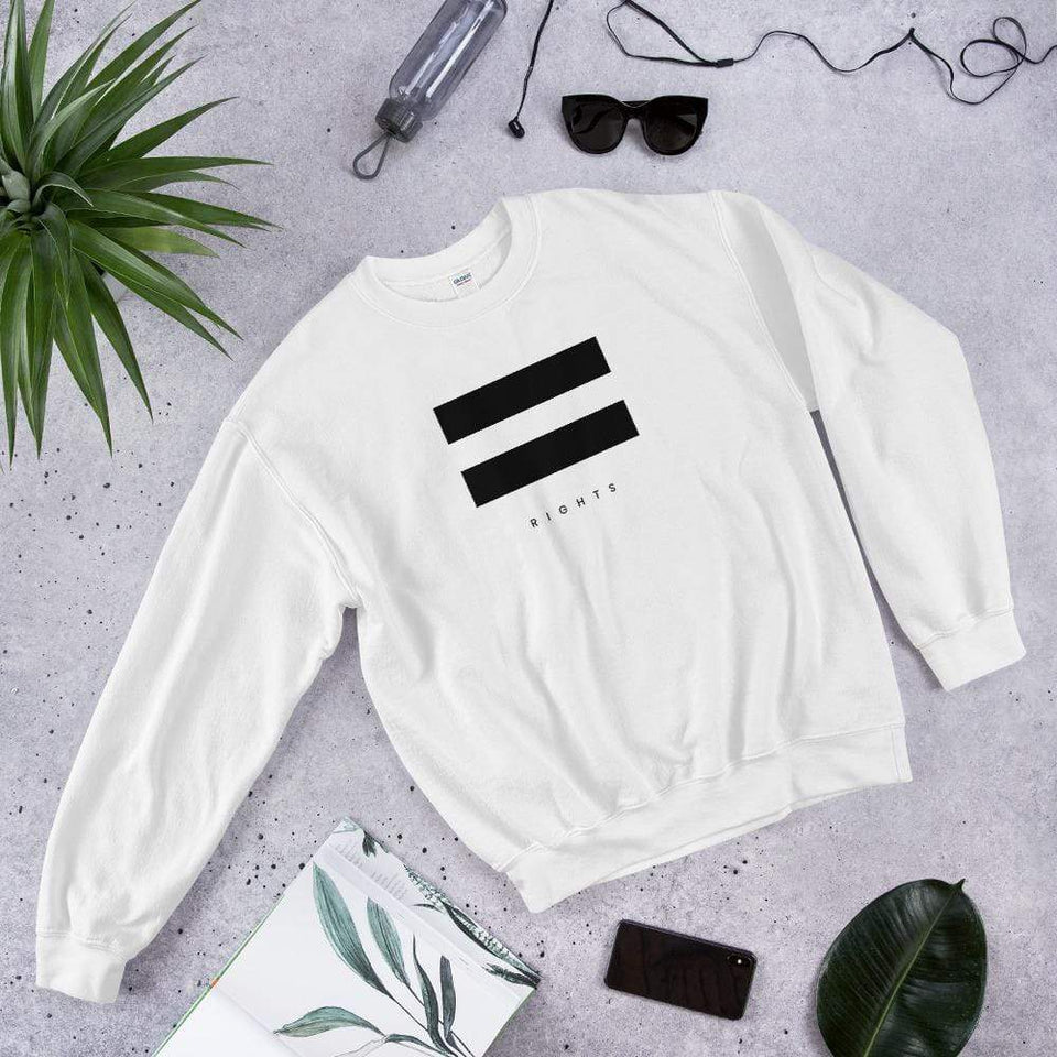 Equal Rights Sweatshirt Political-Activist-Socialist-Fashion -Art-And-Design