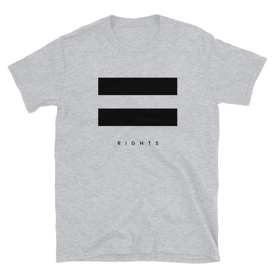 Equal Rights T-Shirt Sport Grey / S Political-Activist-Socialist-Fashion -Art-And-Design
