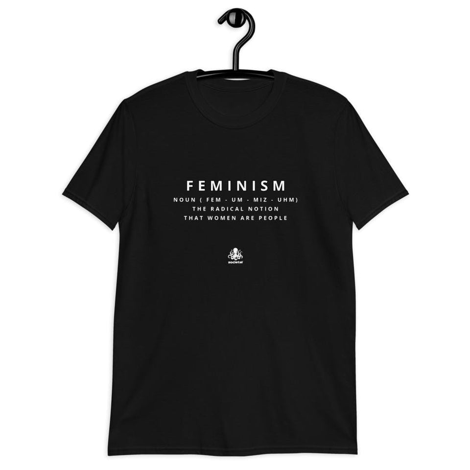 Feminism Tee Political-Activist-Socialist-Fashion -Art-And-Design