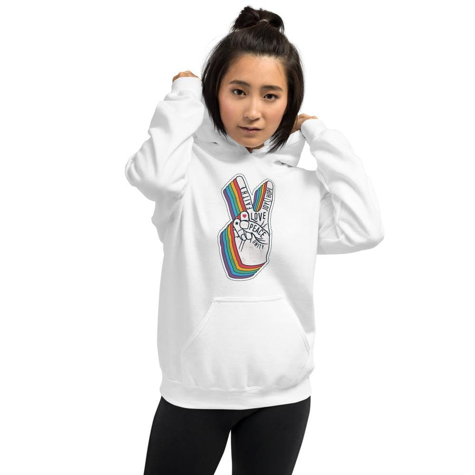 Peace Hoodie Political-Activist-Socialist-Fashion -Art-And-Design