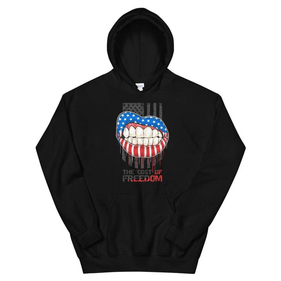 Freedom Hoodie Black / S Political-Activist-Socialist-Fashion -Art-And-Design