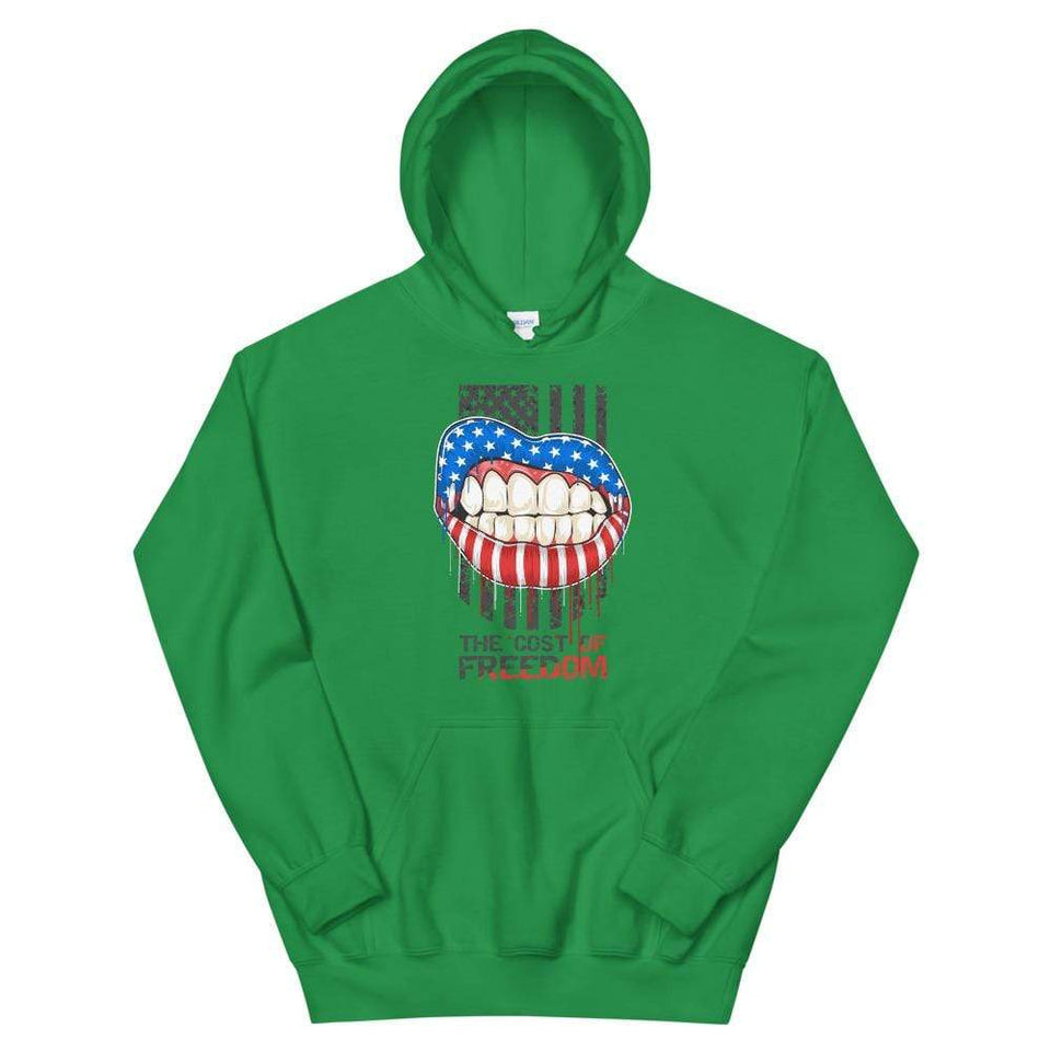 Freedom Hoodie Irish Green / S Political-Activist-Socialist-Fashion -Art-And-Design