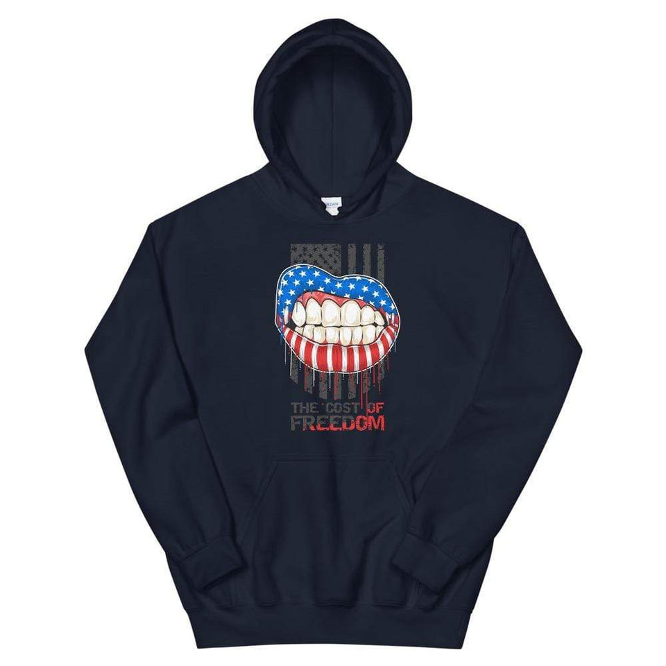 Freedom Hoodie Navy / S Political-Activist-Socialist-Fashion -Art-And-Design
