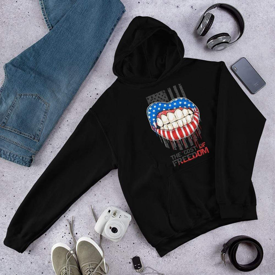 Freedom Hoodie Political-Activist-Socialist-Fashion -Art-And-Design
