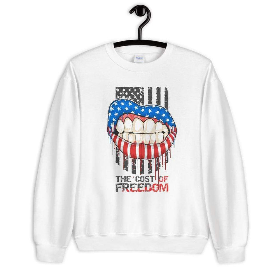 Freedom sweatshirt Political-Activist-Socialist-Fashion -Art-And-Design