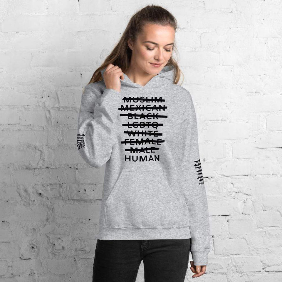 Human Hoodie Political-Activist-Socialist-Fashion -Art-And-Design