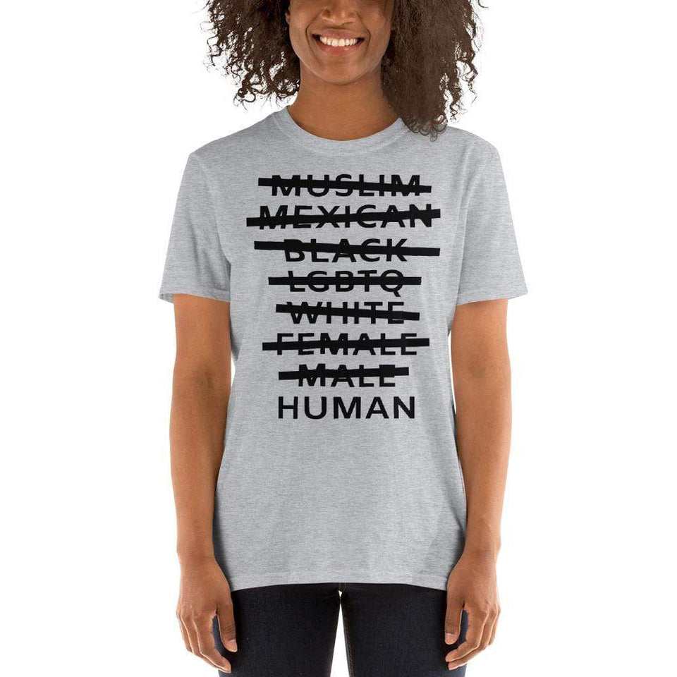 Human T-Shirt Political-Activist-Socialist-Fashion -Art-And-Design
