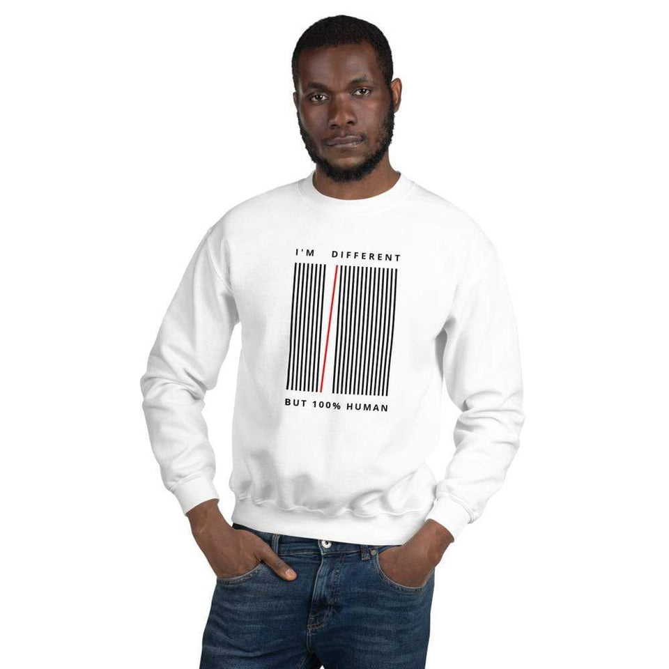 I'm Different Sweatshirt Political-Activist-Socialist-Fashion -Art-And-Design