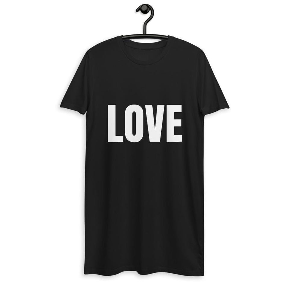 Love & Protest Organic Dress Political-Activist-Socialist-Fashion -Art-And-Design