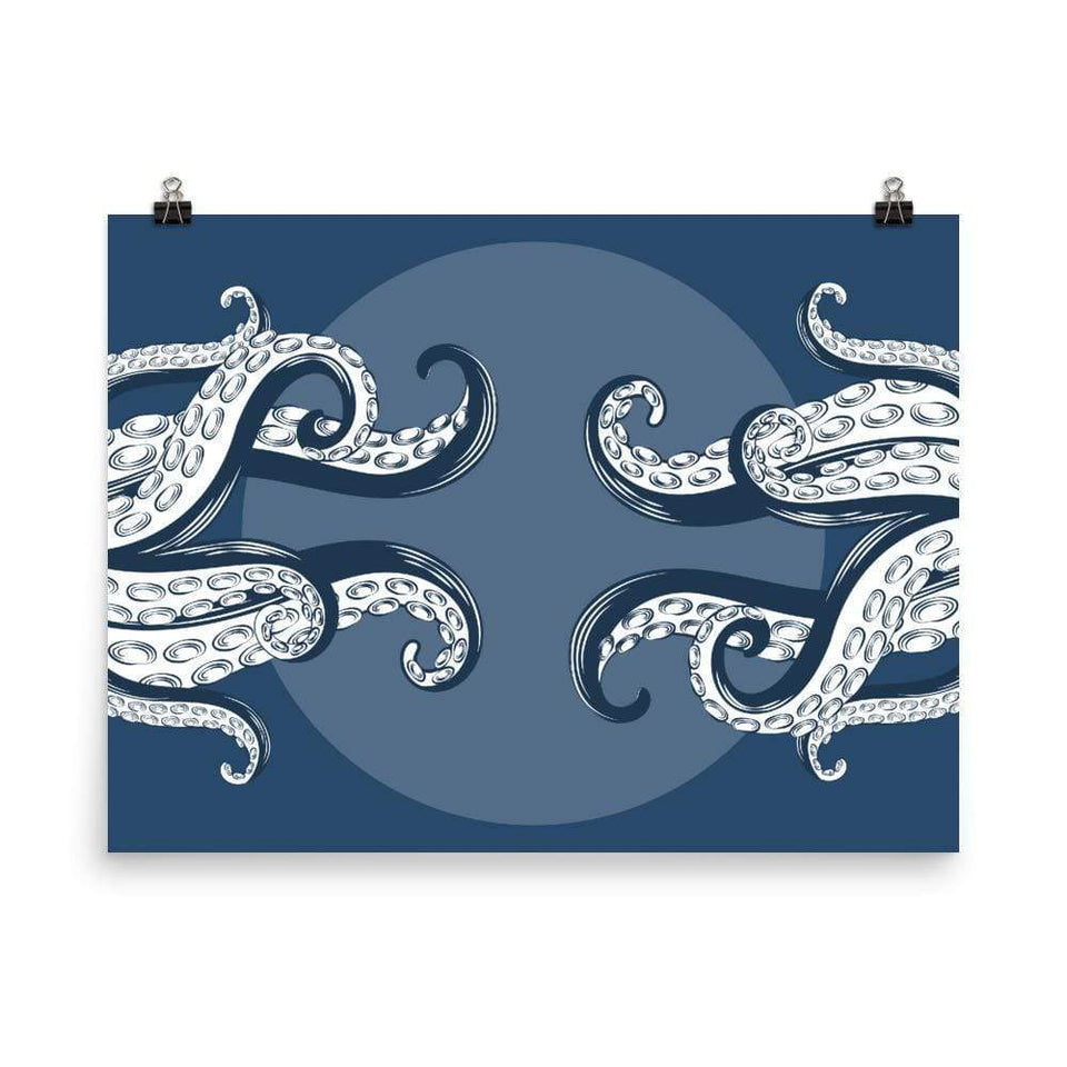Octopus Tentacles Poster 18×24 Political-Activist-Socialist-Fashion -Art-And-Design