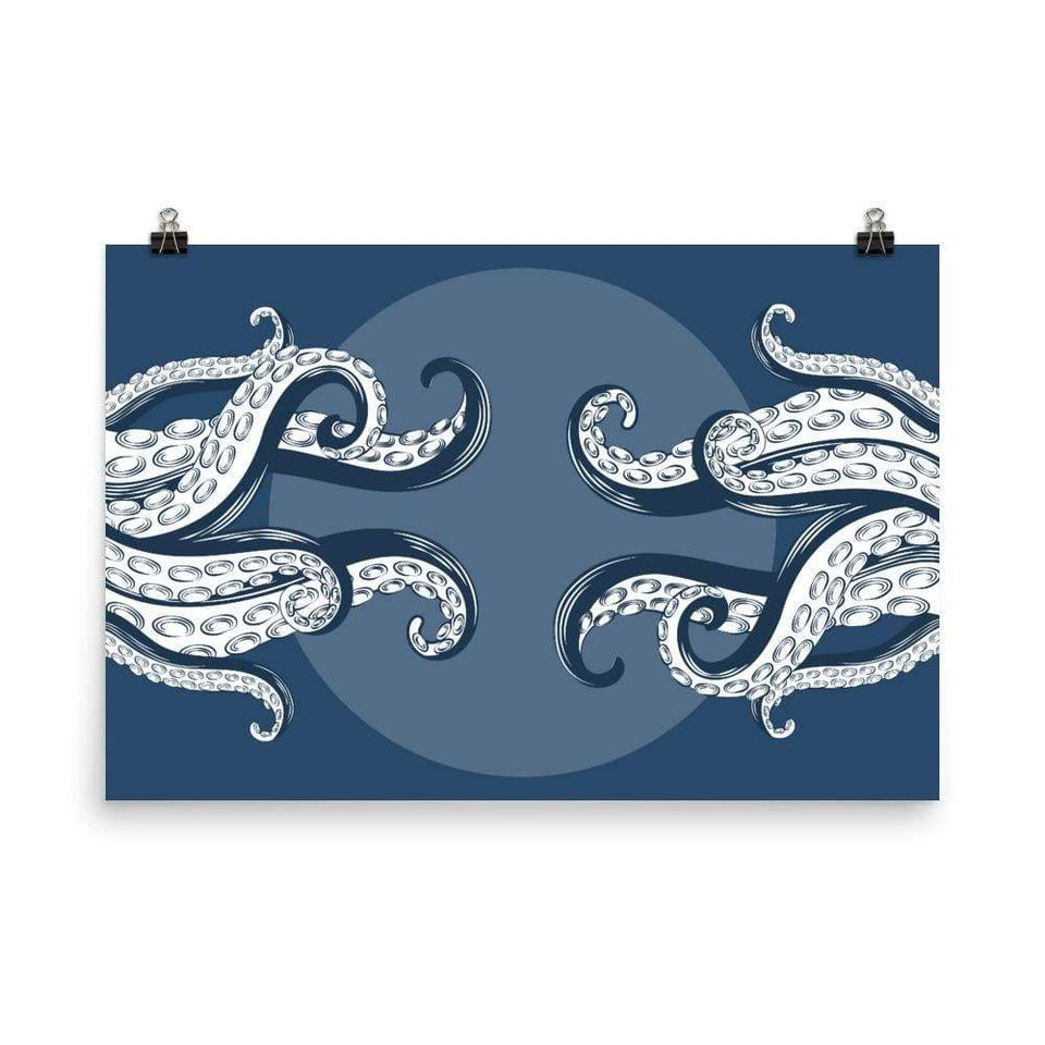 Octopus Tentacles Poster 24×36 Political-Activist-Socialist-Fashion -Art-And-Design