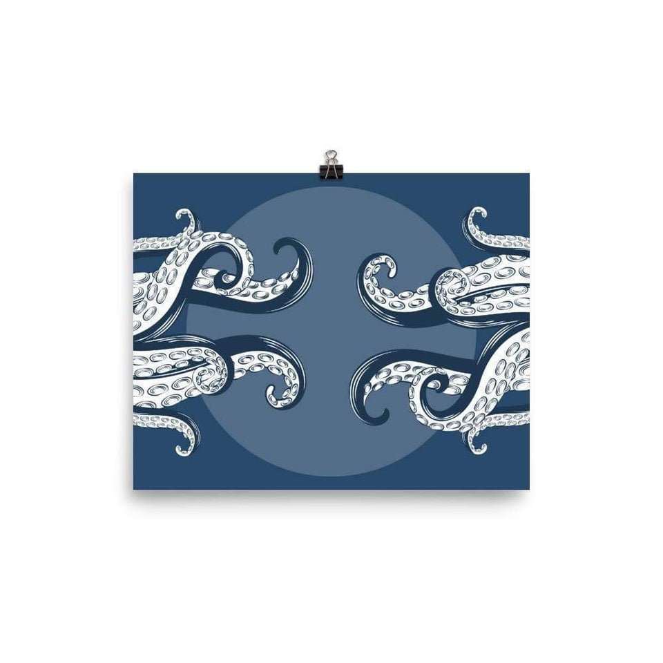 Octopus Tentacles Poster 8×10 Political-Activist-Socialist-Fashion -Art-And-Design
