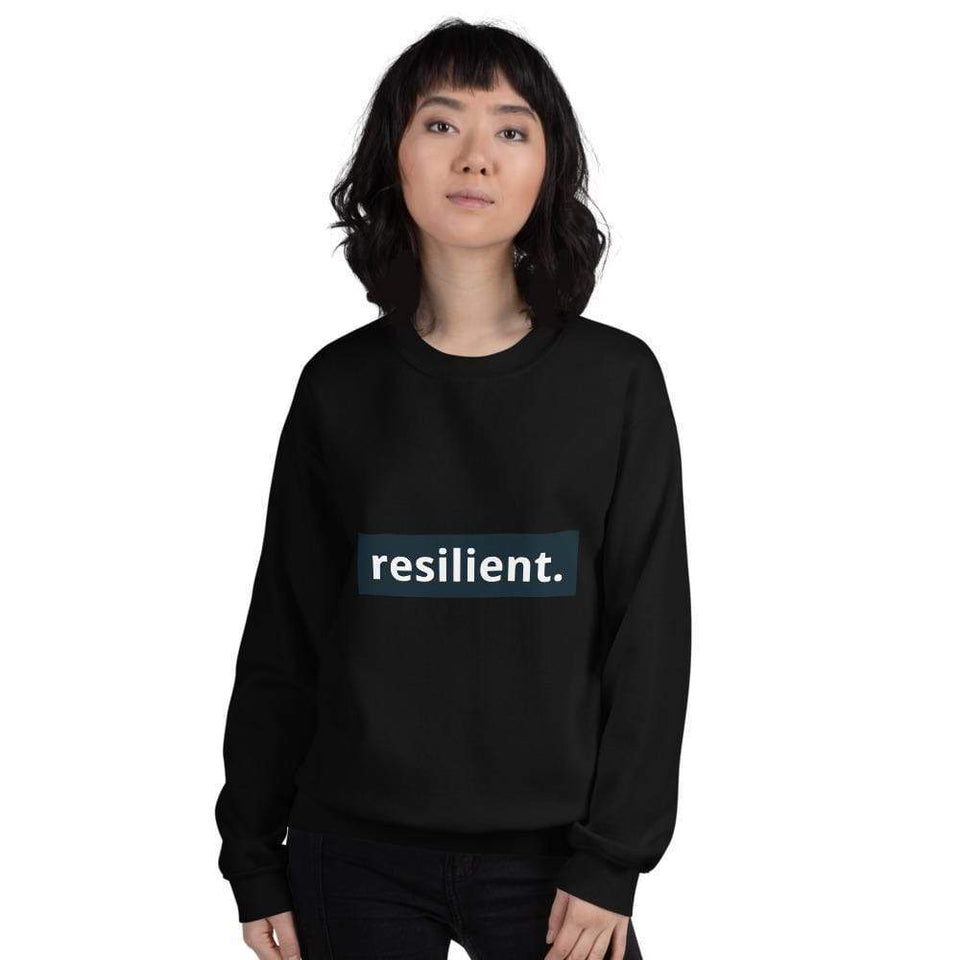 Resilient Sweatshirt Political-Activist-Socialist-Fashion -Art-And-Design