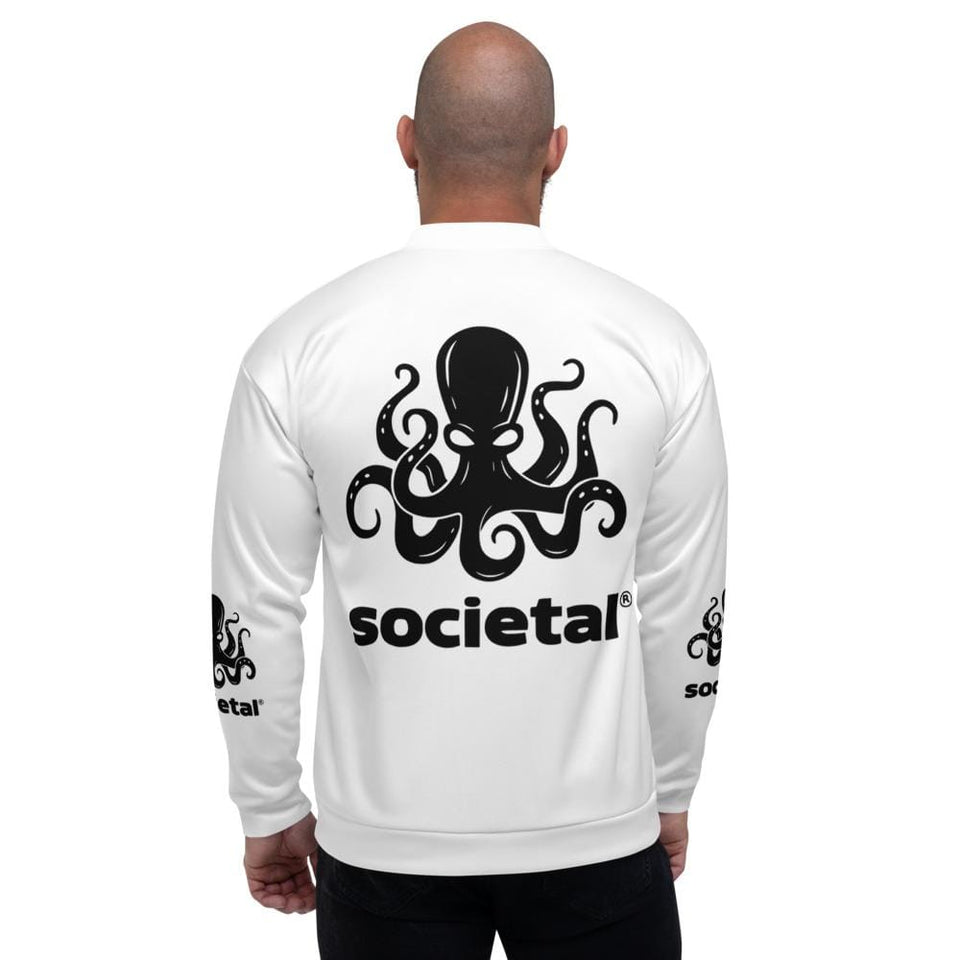 Societal Bomber Jacket Political-Activist-Socialist-Fashion -Art-And-Design