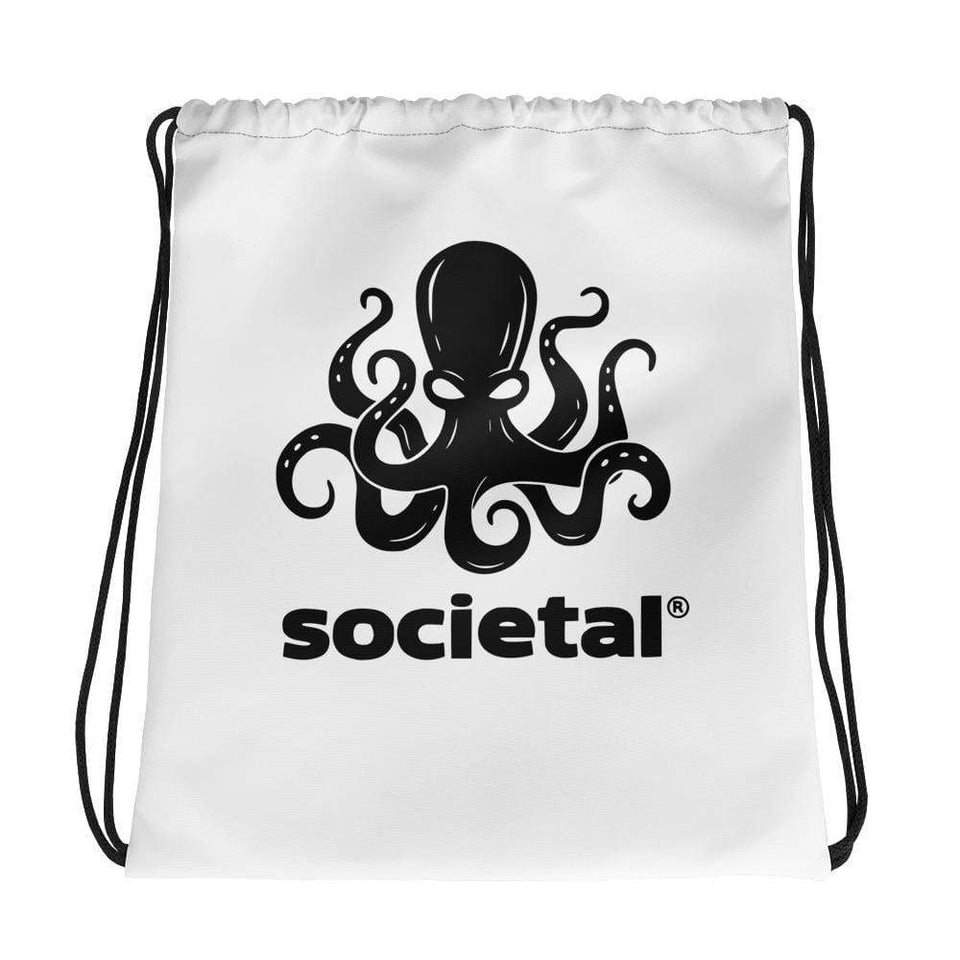 Societal Drawstring bag Political-Activist-Socialist-Fashion -Art-And-Design