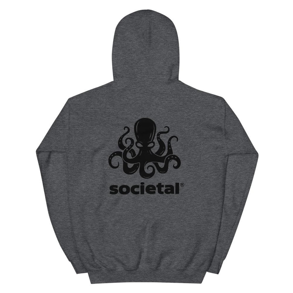Societal Equal Rights Hoodie Political-Activist-Socialist-Fashion -Art-And-Design