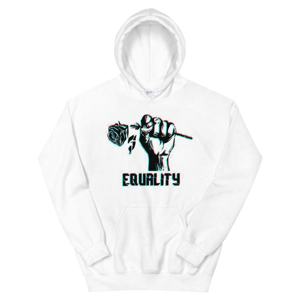 Equality Hoodie Political-Activist-Socialist-Fashion -Art-And-Design