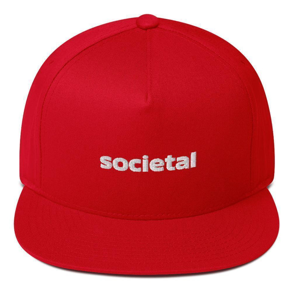 Societal Cap Red Political-Activist-Socialist-Fashion -Art-And-Design