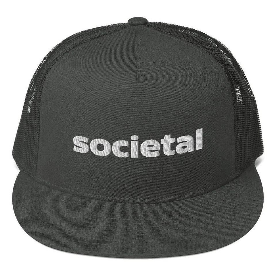 Societal Mesh Back Snapback Political-Activist-Socialist-Fashion -Art-And-Design