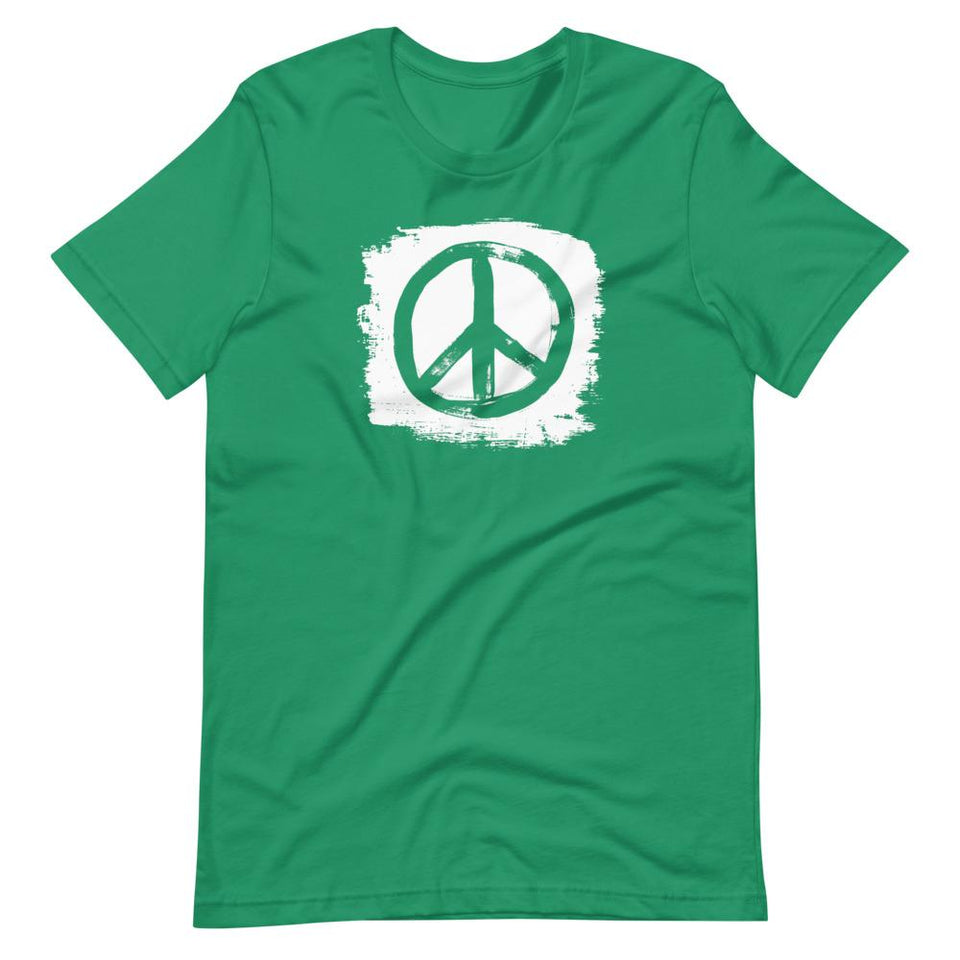 Peace T-Shirt Kelly / XS Political-Activist-Socialist-Fashion -Art-And-Design