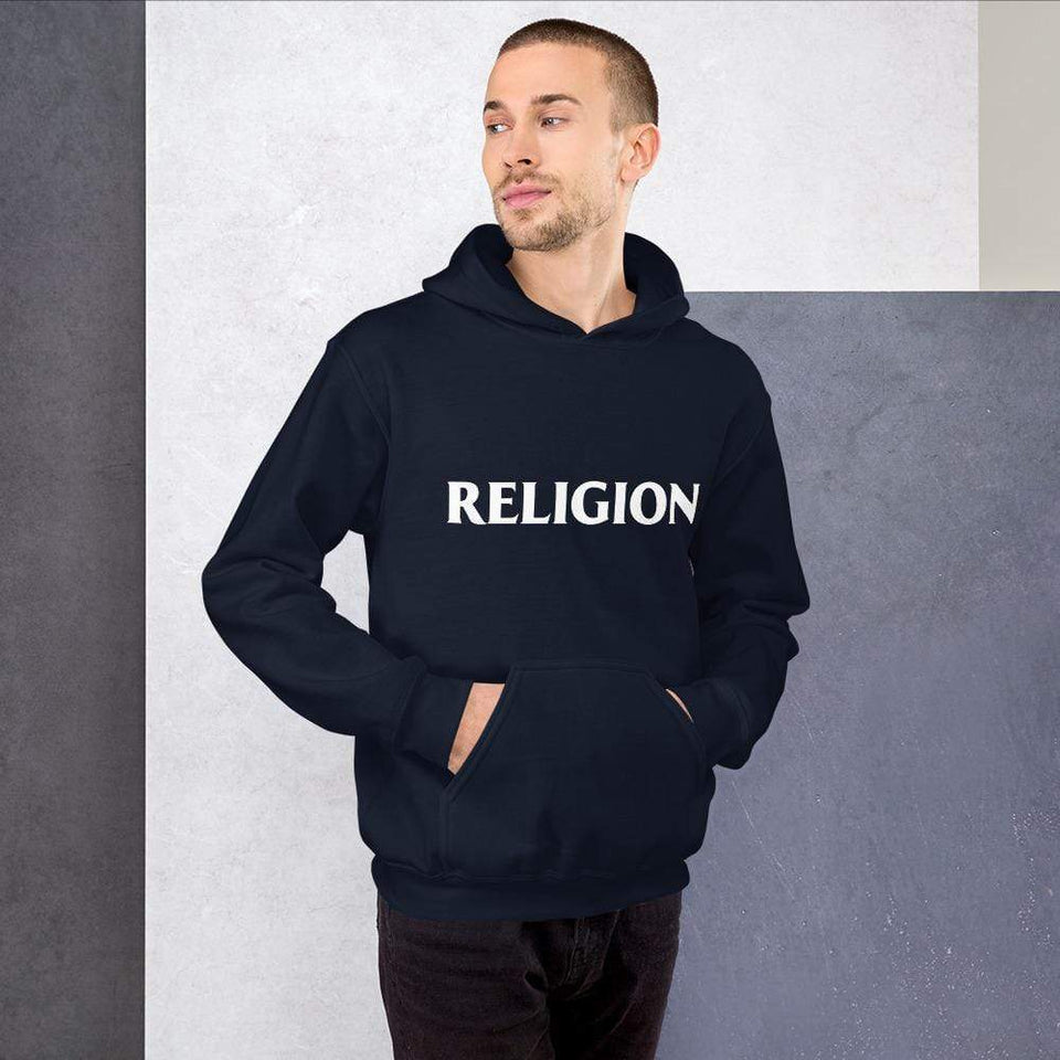 Religion Hoodie Political-Activist-Socialist-Fashion -Art-And-Design