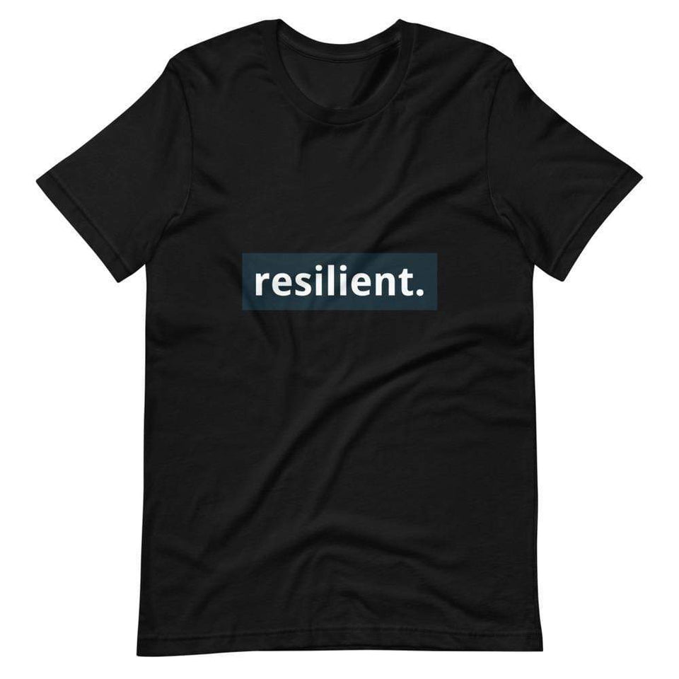 Resilient Short-Sleeve Unisex T-Shirt Political-Activist-Socialist-Fashion -Art-And-Design