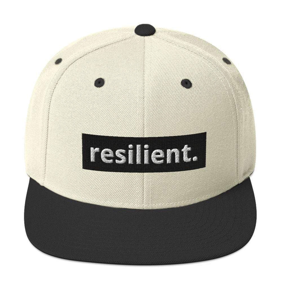 Resilient Snapback Hat Political-Activist-Socialist-Fashion -Art-And-Design