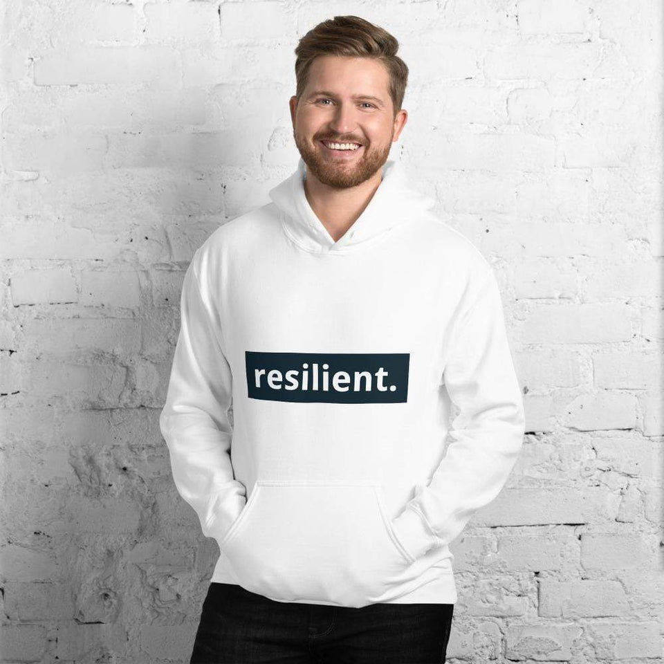 Resilient Hoodie Political-Activist-Socialist-Fashion -Art-And-Design