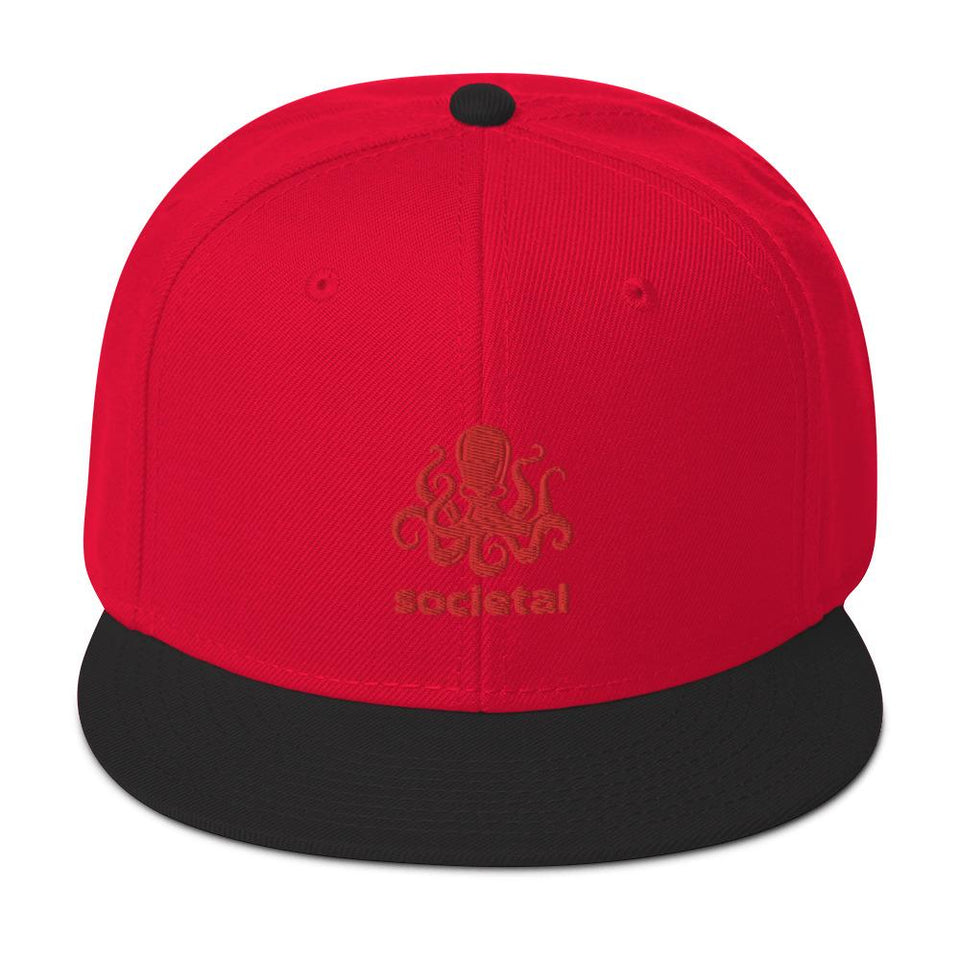 Societal Snapback Hat Political-Activist-Socialist-Fashion -Art-And-Design