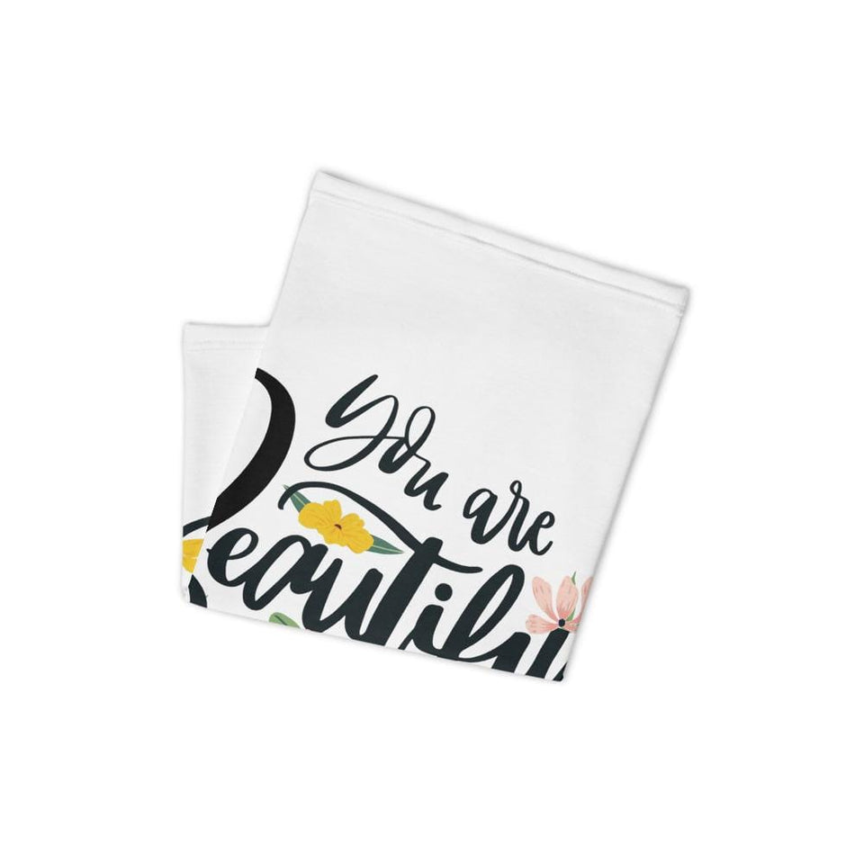 You Are Beautiful Face Mask Political-Activist-Socialist-Fashion -Art-And-Design